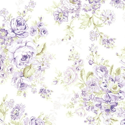 1/2 Yard Wildflowers Floral 750-C Rachel Ashwell for Treasures by Shabby Chic