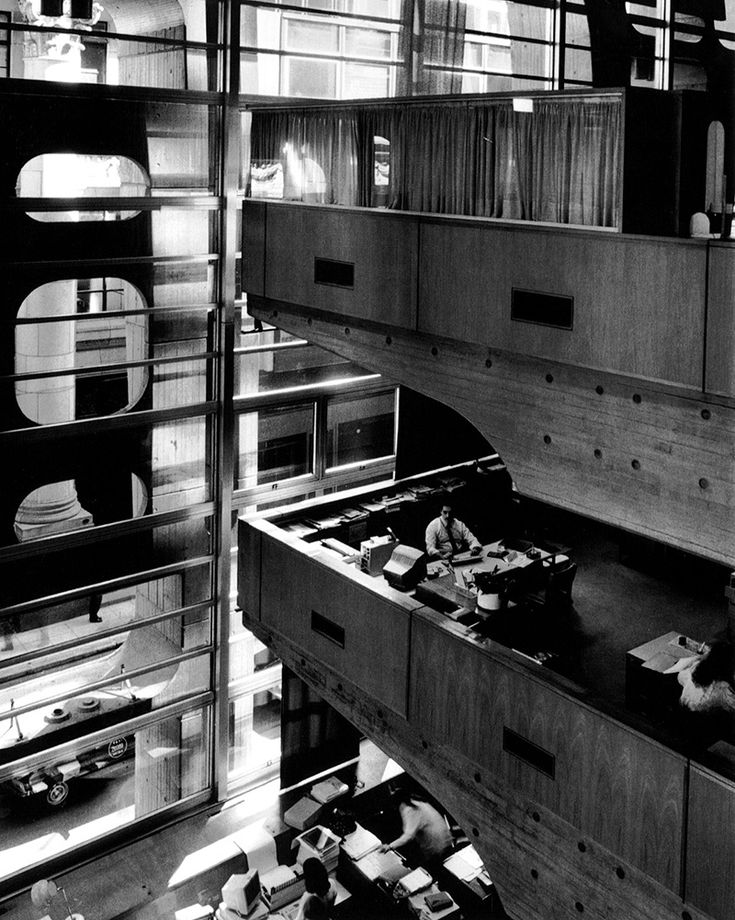BANCO DE LONDRES Y SUDAMERICA. Clorindo Testa. Reconquista, 101. Buenos Aires, Argentina. 1966