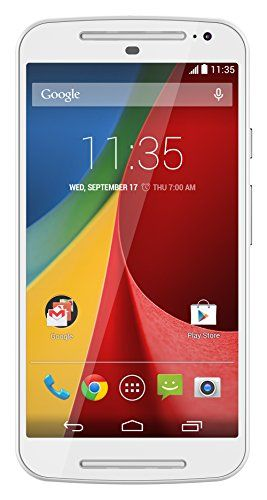Motorola Moto G (2nd generation) - Global GSM - Unlocked - 8GB White  for more details visit  : http://mobile.megaluxmart.com/