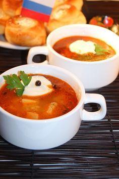 Кубанский чесночный суп
