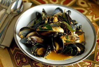 Συνταγές για ουζομεζέδες: Αχνιστά μύδια