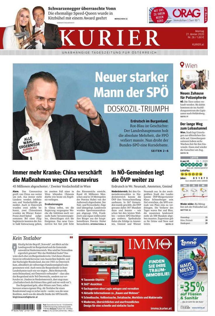 En Autriche, les socialistes triomphent en 2020