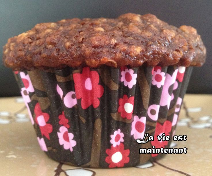 Muffins dattes chocolat