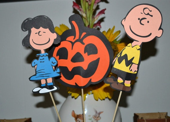 The Great Pumpkin Charlie Brown Themed Birthday Party by natebarn, $10.00