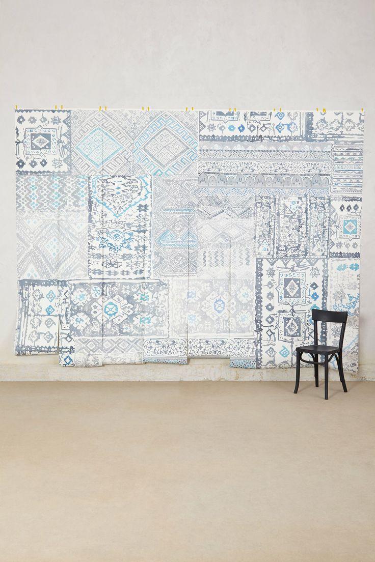 257 best feels like images on pinterest home ideas for Anthropologie wallpaper mural
