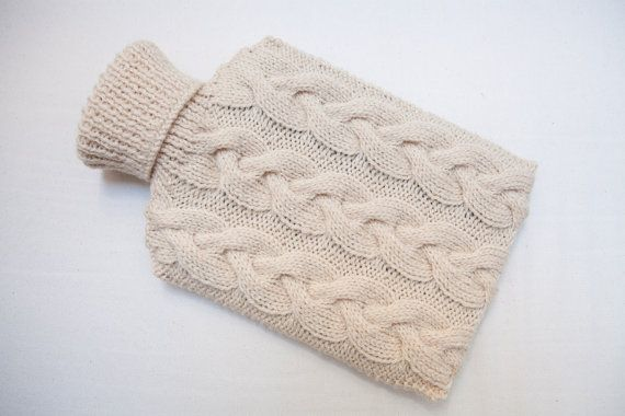 This beautiful hot water bottle cover by SweetMaya on Etsy. Perfect for Christmas!
