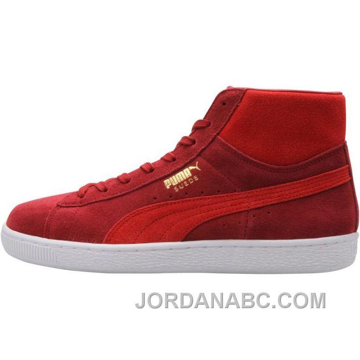 check out 58492 c0a4d ... http   www.jordanabc.com puma-suede-mid- ...