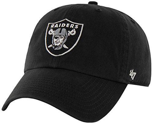 Oakland Raiders Adjustable Hat