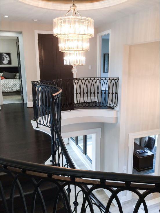 Best Custom Iron Staircase Railing Idea Photo Gallery 400 x 300