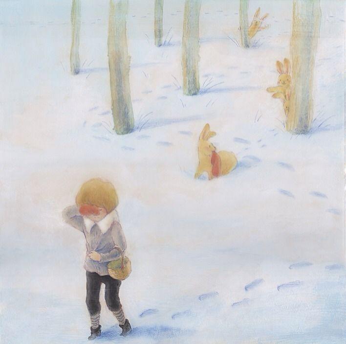 "Eriko Kurita (In the Pocket), ""どうしても見つからない"" (""It Really Cannot Be Found""). Bad, bad bunnies."