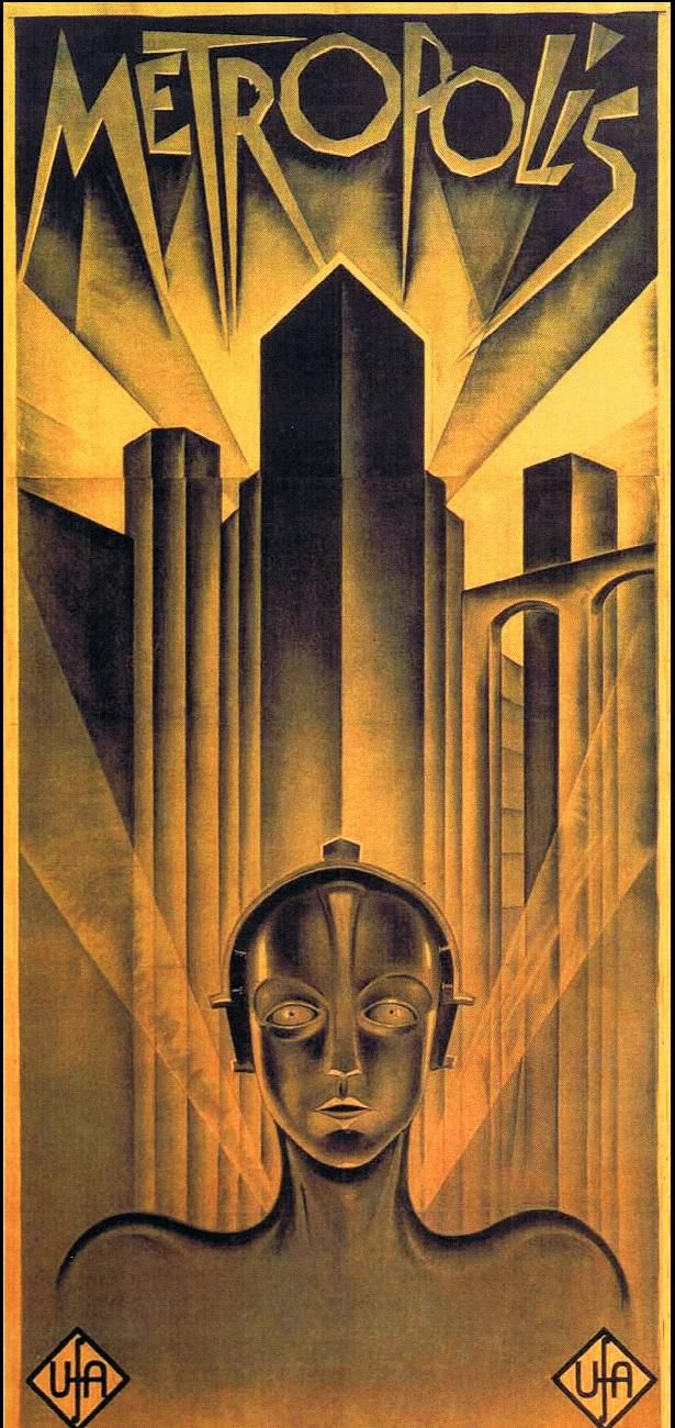 1927 Silent German Film Metropolis Poster worth...wait for it...$1,000,000