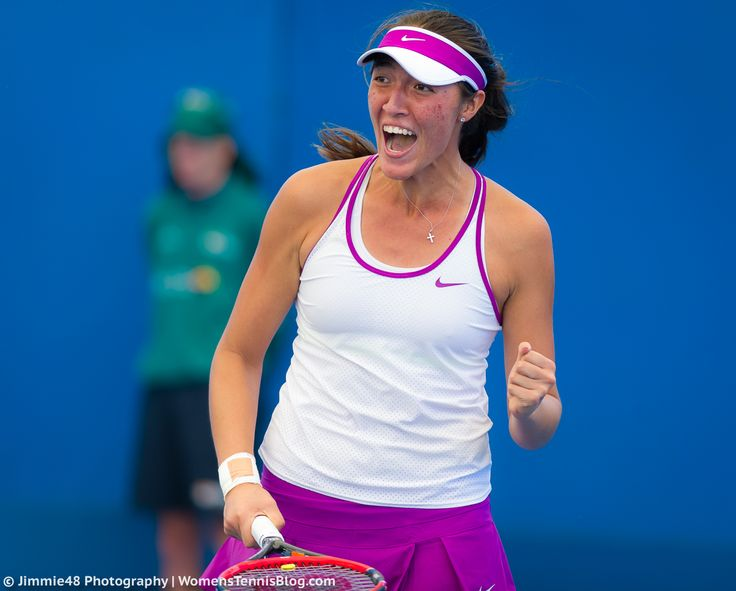 1/7/16 #BrisbaneInternational SFs for Samantha Crawford! ... Samantha Crawford is first Qualifier to make #BrisbaneTennis women's semi-finals. http://yhoo.it/1Z71Lac  @7tennis  ..Via Vavel:  Samantha Crawford Blasts Her Way Past Andrea Petkovic 6-3, 6-0 -  in action at the 2016 Brisbane International.