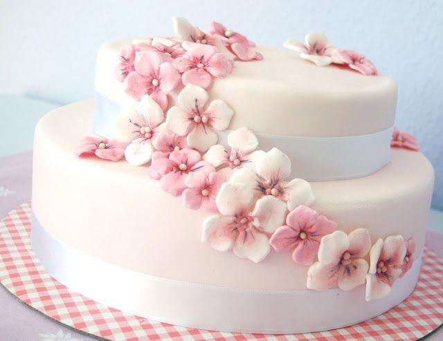 Kessy's Pink Sugar: Blütenpaste - Schritt für Schritt selber herstellen
