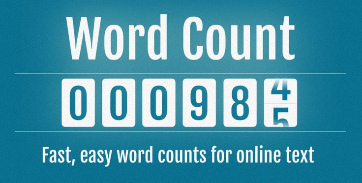 No need to download any app from any store just use Online Words And Characters Counter Tool - A fast, easy word counts for online text