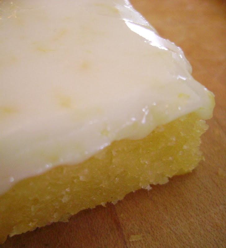 Lemon Brownies.