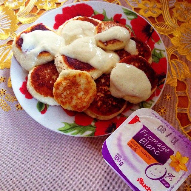 Правильное питание: рецепт сырников | Таня Рыбакова