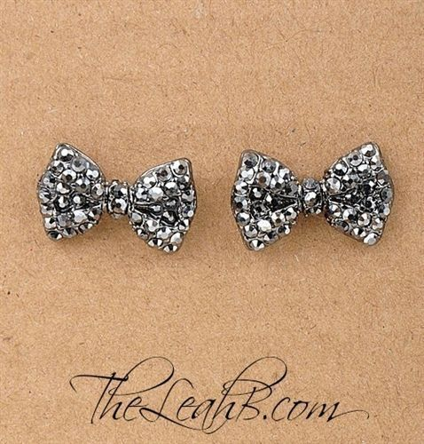 Bow Earrings, I love this pair tho.