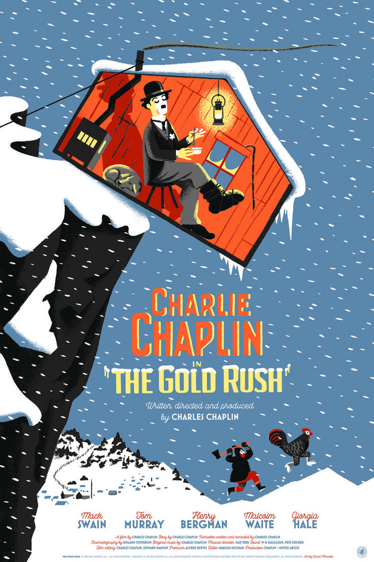 Nautilus Art Prints Honors Charlie Chaplin With 4 Posters
