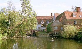 Dedham - View taken near Willy Lott's cottage at Flatford Mill, Dedham Vale, Essex © Diana Hitchin
