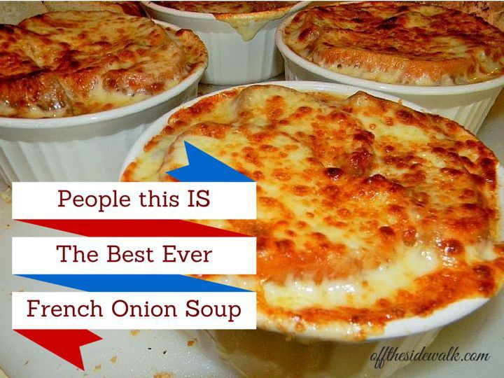 People This IS the Best Ever French Onion Soup