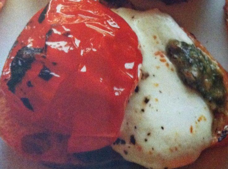Bruschetta Tomato Mozzarella Appetizer