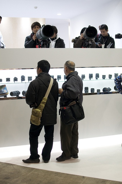 Sigma lenses, CP+ Yokohama, Feb. 2012.