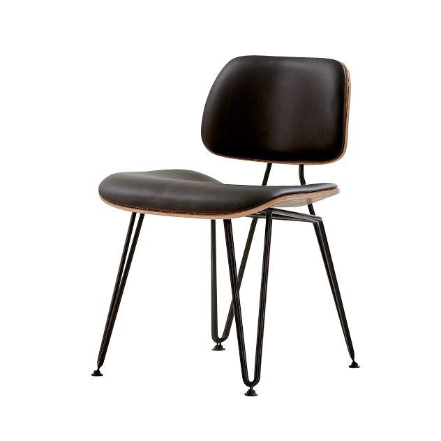 Upholstered Radius Dining Chair - Chairs - Blue Sun Tree