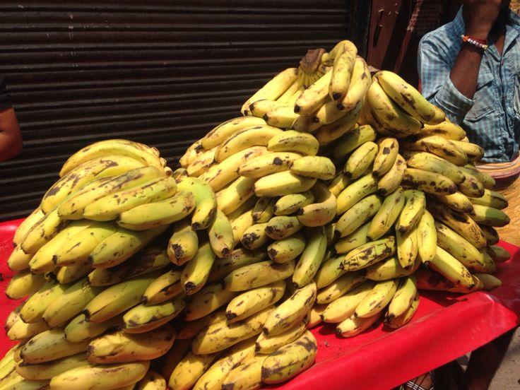 Bananas in Old Delhi