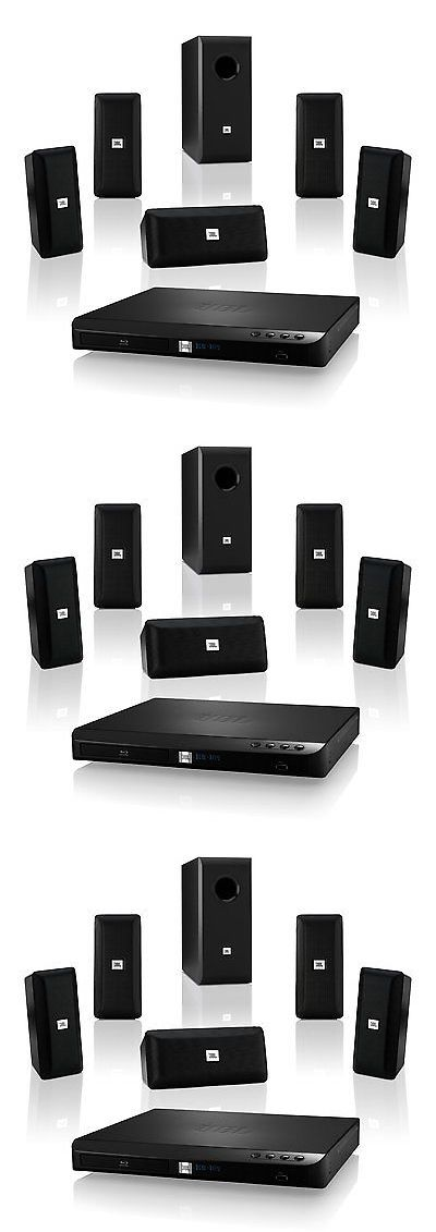 Home Theater Systems: Jbl Bd100 Complete 5.1-Channel 3D Blu-Ray Disc Integrated Home Theater System BUY IT NOW ONLY: $239.95