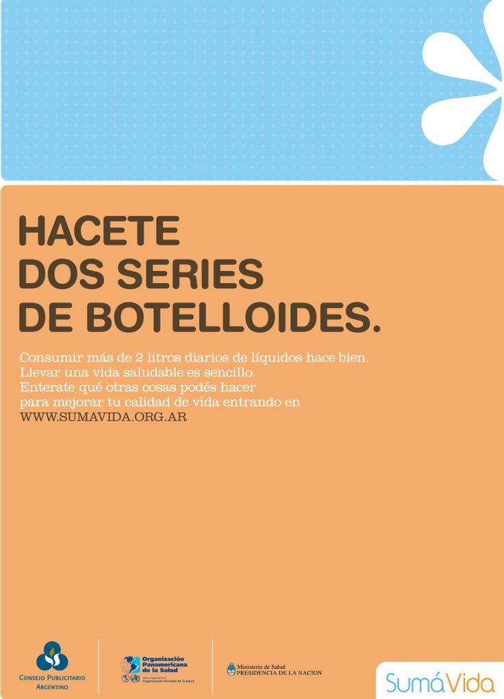 """""""Sumá Vida -botelloides-"""" 2008"""