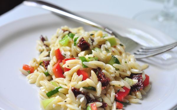 Greek Orzo Salad | Must Try Recipes | Pinterest