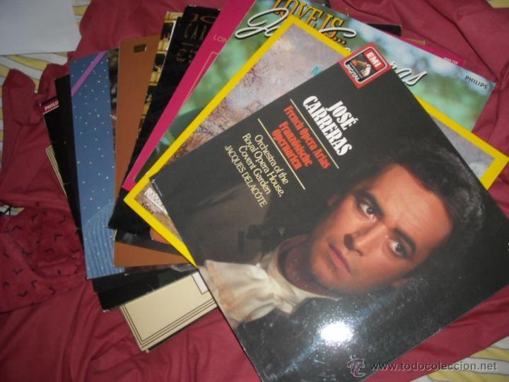 JOSE CARRERAS LOTE 21 LPS TODOS EN PERFECTO ESTADO - Foto 1