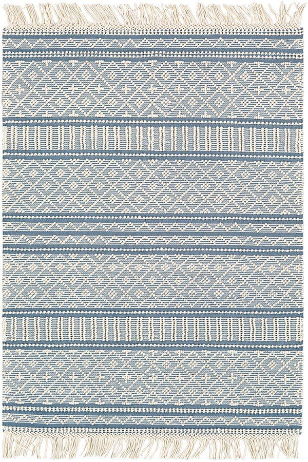 Surya Farmhouse Tassels Fts 2301 Rugs Rugs Direct Rugs On Carpet Area Rugs Flat Weave Rug
