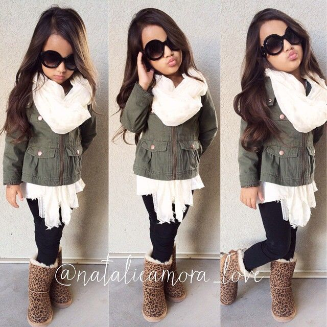 Little girl fall/winter fashion☻