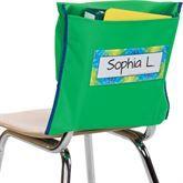 Store More® Deep-Pocket Chair Pockets, Green