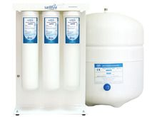 Add essential minerals & filter contaminants from your tap water. Santevia Reverse Osmosis Water System fits conveniently in your under-sink cupboard.