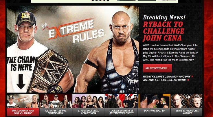 Razón de que la lucha de Ryback vs. John Cena en Payback sea Tres Niveles del Infierno.