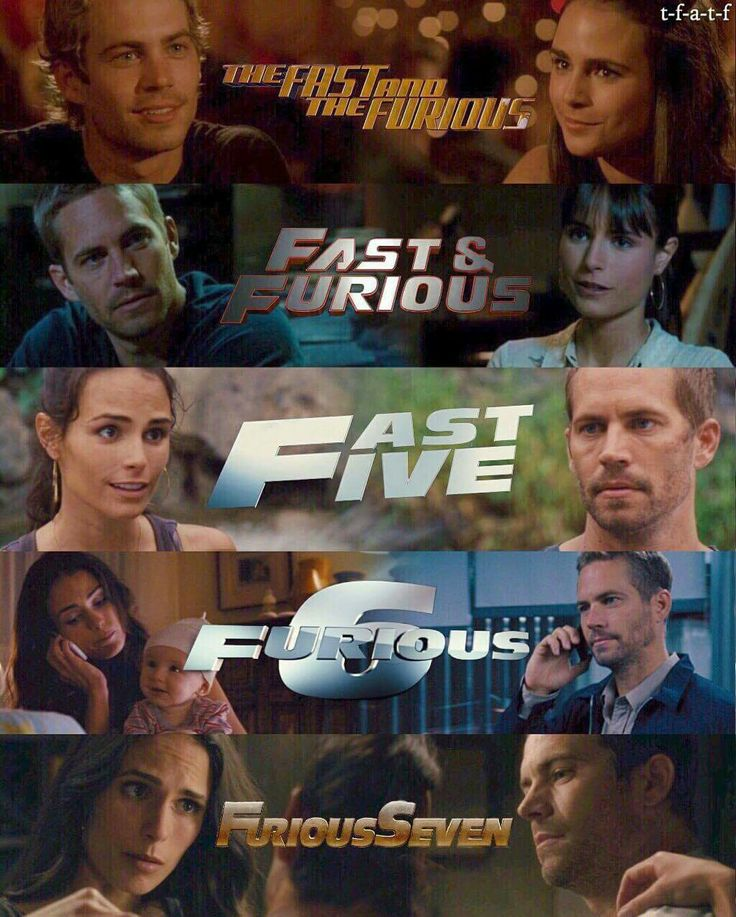 Fast & The Furious 1-7