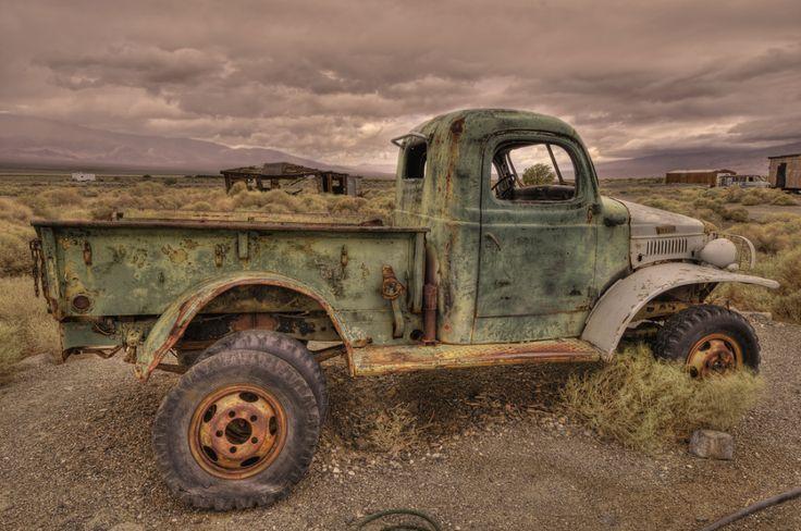 Abandoned Truck, Ballarat, California