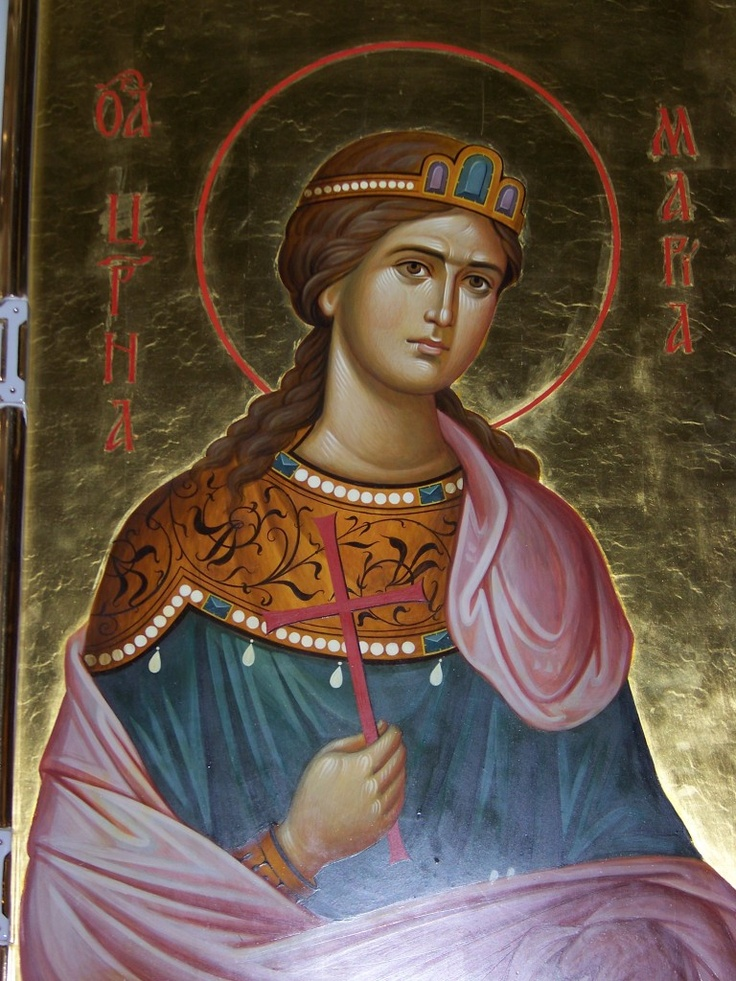 Grand Duchess Maria  - Church on Blood in Honor of All Saints Resplendent in the Russian Land - Ekaterinburg, Russia.