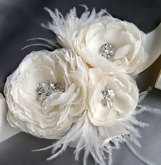 image of Vintage Bridal Accessories ♥ Gorgeous Wedding Bridal Sash