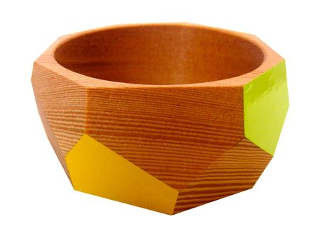 A wooden bangle - contemporary jewellery | Princespier.com
