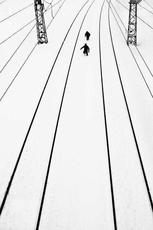 Serkant Hekimci: Snow Photography, Amazing Photography, Serkant Hekimci, Black White Photography, Photographers Museums, Art, One Word, Minimalist Photography, Street Photography