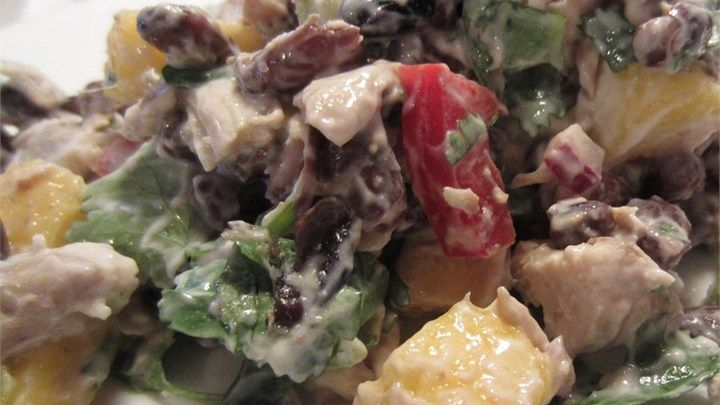 Chicken Salad with Mango Chutney