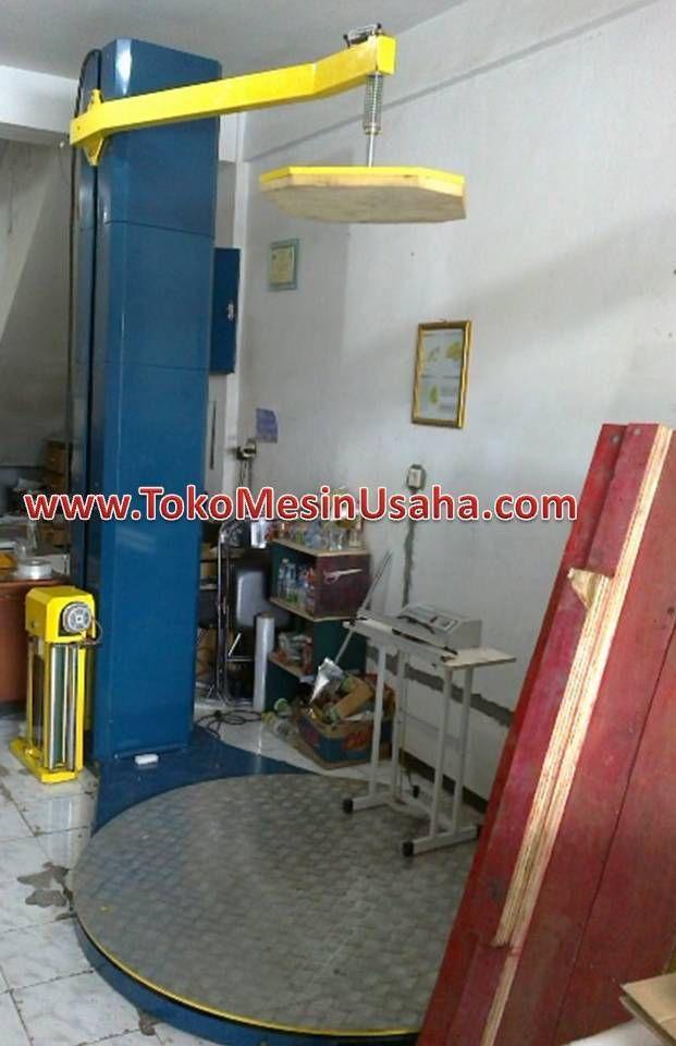 Mesin Wrapping Pellet adalah mesin wrapping yang digunakan untuk me-wrapping produk yang ada diatas pellet, produk biasanya berjumlah banyak dan bertumpuk.