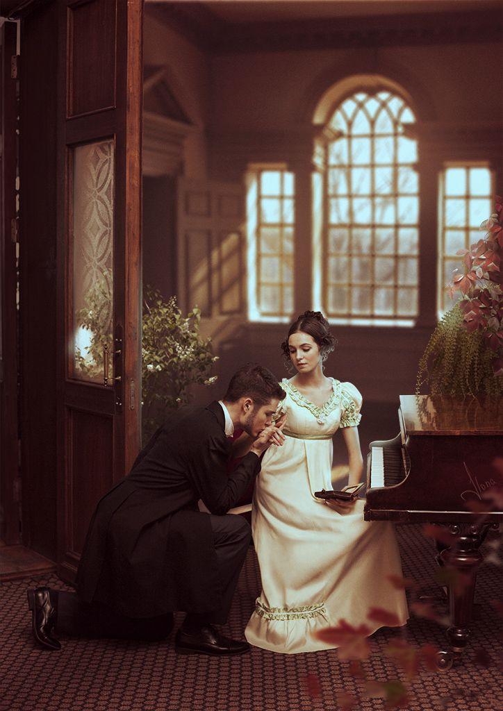 Eugene Onegin and Tatiana by ilona-veresk.deviantart.com on @deviantART