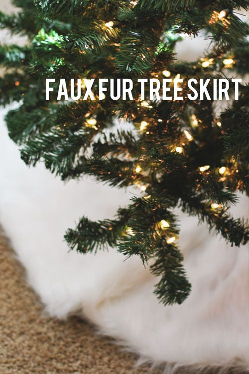best 25 faux fur tree skirt ideas on pinterest fur tree white christmas tree skirt and frosted christmas tree - Fur Christmas Tree Skirt