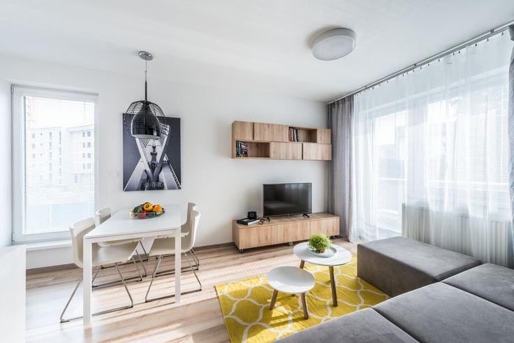 Interiér bytu pre fotografa, Petržalské Dvory, Bratislava | RULES architekti