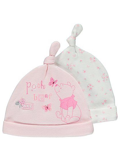 Disney 2 Pack Winnie the Pooh Tietop Hats , read reviews and buy online at George at ASDA. Shop from our latest range in Baby. Add a little more warmth to th...