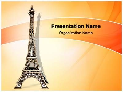 eiffel tower model template - 114 best images about travel and tourism powerpoint